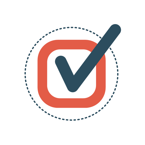Icon   Circle with checkmark